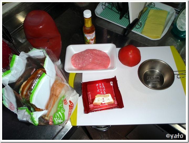 ホットサンドイッチ 具材