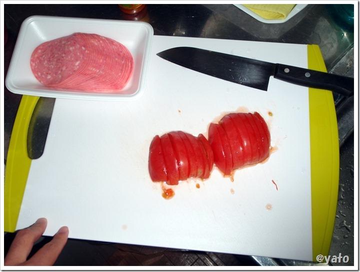 トマト ホットサンドイッチ