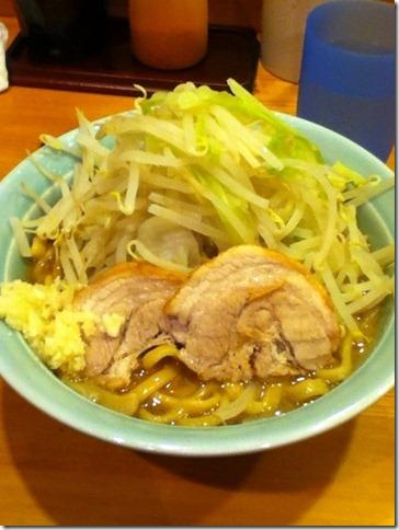 えぼし麺野菜ニンニク増し 菜良