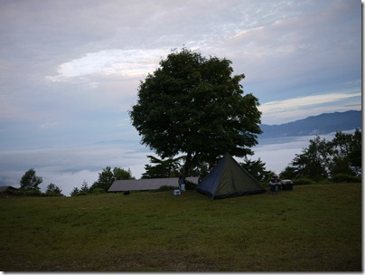 陣馬形山頂 陣馬形キャンプ場