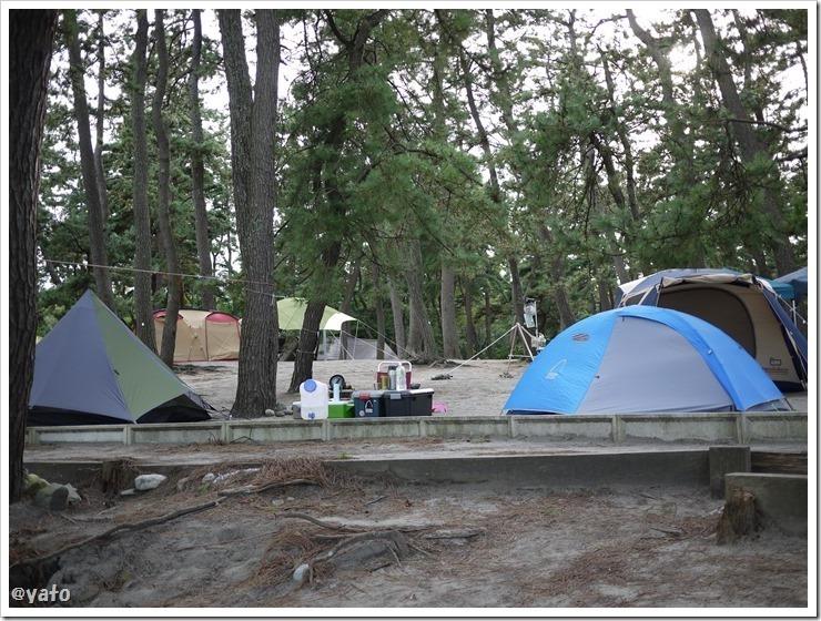 園家山キャンプ場 富山の無料キャンプ場