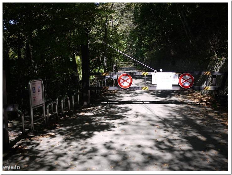 西沢渓谷 ゲート