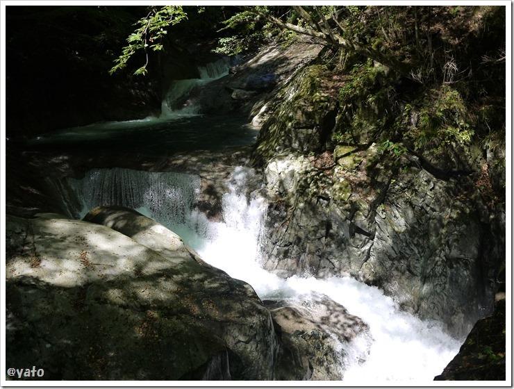 西沢渓谷 滝1