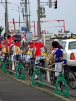 ねぶた自転車部隊