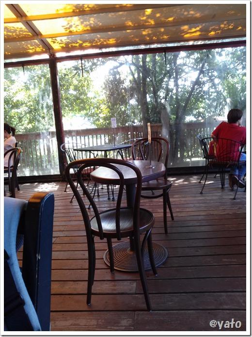 阿里山カフェ オープンテラス
