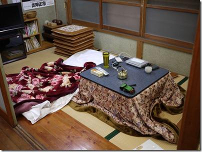 秩父山の家 こたつ部屋