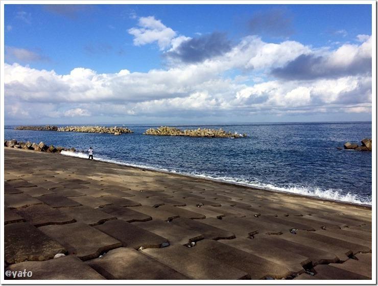 園家山キャンプ場 海岸