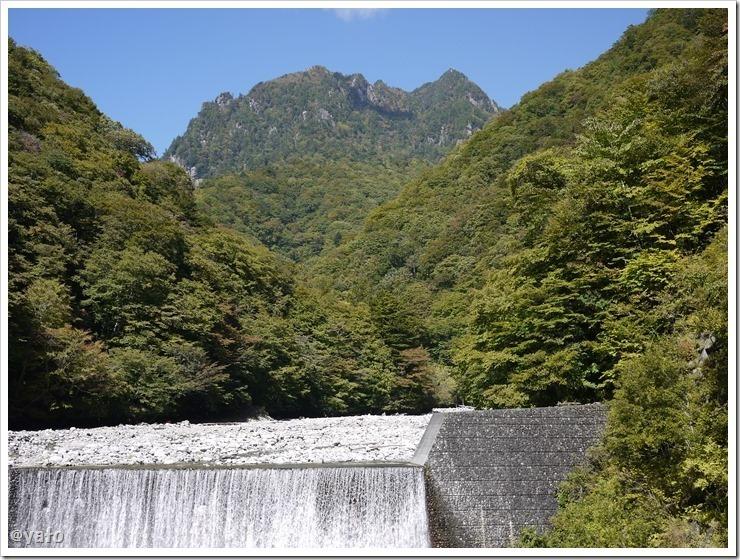 西沢渓谷 鶏冠山