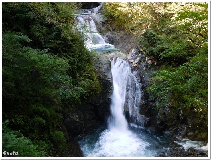 西沢渓谷 五段の滝